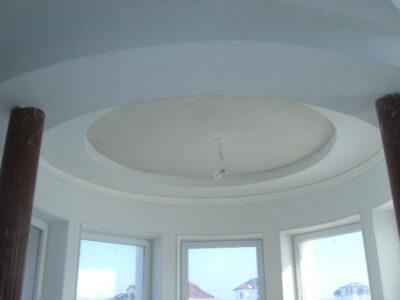 монтаж многоуровневого потолка из ГКП