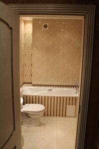 ремонт в ванной в квартире по ул. Бассейная