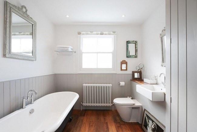отремонтированная ванная комната