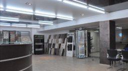 выполненный ремонт магазина