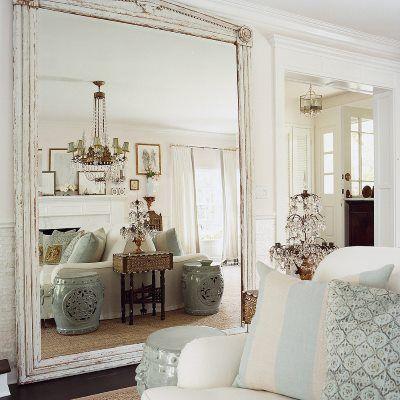 как сделать квартиру просторнее - зеркало